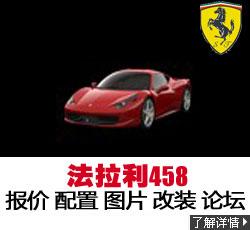 新锐车位网法拉利 458 Italia